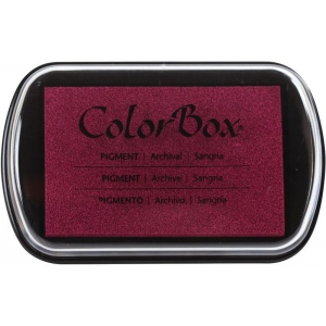 ColorBox® Full Size Ink Pad Sangria