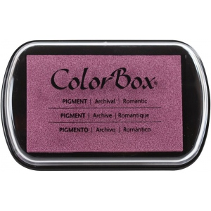 ColorBox® Full Size Ink Pad Romantic, (model CS15241), price per each