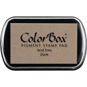 ColorBox® Full Size Ink Pad Dune: Brown, Pad, Pigment, Full Size Rectangle, (model CS15151), price per each