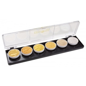 Coliro Artist Mica Watercolor Set of 6 Pearl Color Set