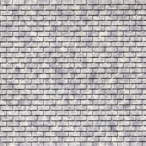 "Architectural Model-Building Material: Roofing/3 in 1/Grey, 5 1/2"" x 16 1/8"" Sheet"