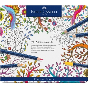 Faber-Castell Art Grip Aquarelle Studio Quality Watercolor Pencil Sets