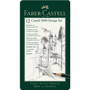 Faber-Castell 9000 Design Set