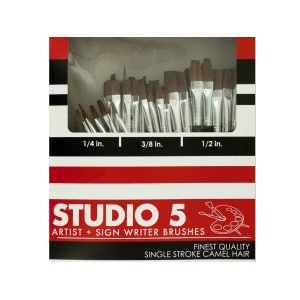 72-Piece Artist & Sign Writer Paint Brush Set