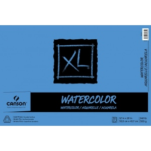 Canson® XL® Cold Press Watercolor Pad (Fold Over)