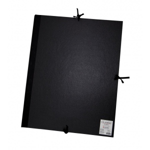 "Cachet® 20"" x 26"" Classic Portfolio: Black/Gray, Fiberboard, Paper, 20"" x 26"", (model CS471302026), price per each"