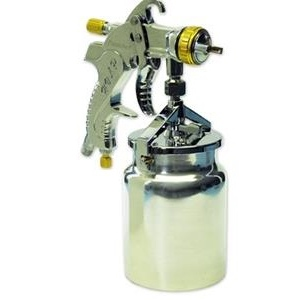Paasche LXS-14 HVLP Siphon Spray Gun with 1.4mm Head