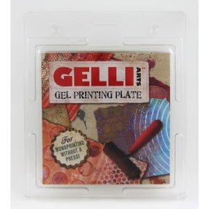 "Gelli Arts Plate: 6"" x 6"", Case of 20"