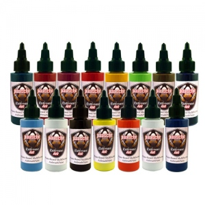 Paasche Airbrush Paasche Extreme Air Standard Colors Paint Pack - X-15S-2