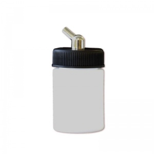 Paasche 1oz Plastic Bottle Assembly For H & EZ airbrushes - BA-30-1P