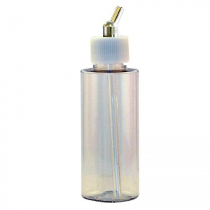 Paasche 2oz Plastic Bottle Assembly For VL, MIL, SI and TS - BA-60-2P