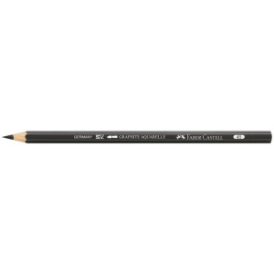 Faber-Castell Aquarelle Graphite Pencil: 4B