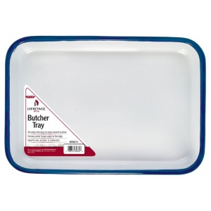 "Heritage Arts™ Butcher Tray 7 1/2"" x 11"": Metal, Rectangle, 7 1/2"" x 11"", Tray, (model BTR0711), price per each"