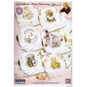 3D Precut Easel Card Kit - Birth & Birthday