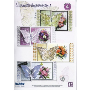 3D Precut, Butterfly Card Kit 1
