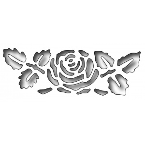 Frantic Stamper Precision Die - Reverse Cut Rose