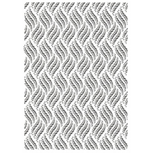 Embossing Folder - A4 - Braided Vines