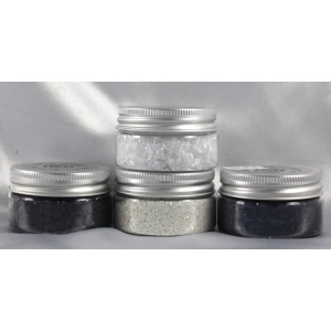 Cosmic Shimmer Glitter Jewels: Iced Snow