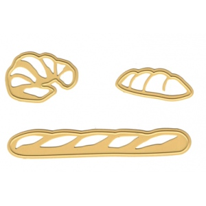 Ecstasy Crafts Joy! Crafts Cutting & Embossing Die Bakery -Bread, Croissant, Baguette