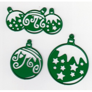 Cutting and Embossing die - Christmas Balls