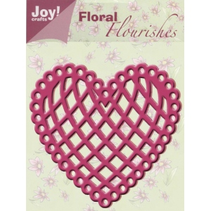 Ecstasy Crafts Joy! Crafts Cutting & Embossing Die - Heart