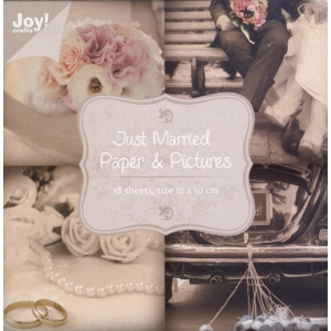 Paper Block - Just Married