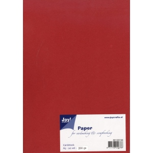 Joy! Crafts Card Stock A5 - Dark Red
