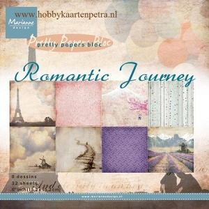Marianne's Pretty Paper Bloc-Romantic Journey