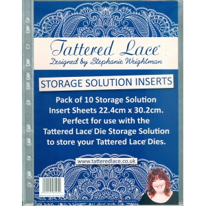 Tattered Lace Die Storage Solution Inserts - Single Pockets