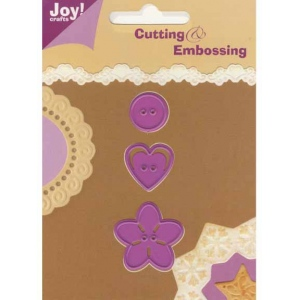 Joy! Crafts Dies - Button Set 2
