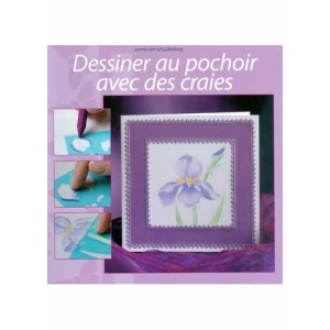 Book Stenciling with pastels-French