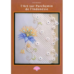 Book Parchment Craft /Indonesia French