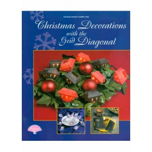 Pergamano Christmas Decorations With Diagonal Grid