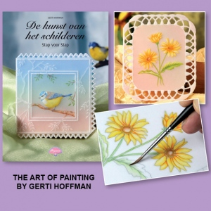 Pergamano Book The Art of Painting by Gerti Hoffman English