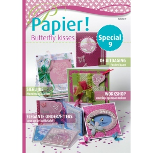 Papier! Magazine FRENCH #9 Butterfly Kisses