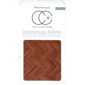 Creative Expressions Parquet Floor Decoupage Papers