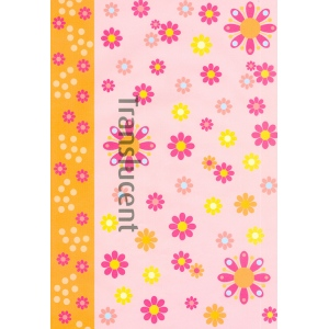 Vellum Flower Power Orange