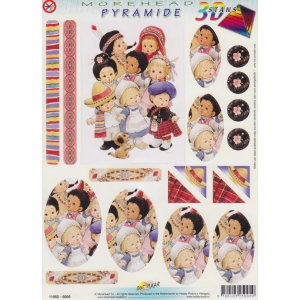 3D Precut Morehead Pyramid Kids Nation