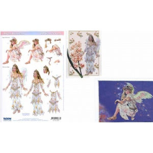 Reddy 3D Precut Angel Whispers Serenity & Rainbow