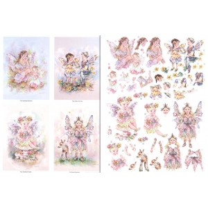 Reddy 3D Precut (2 Sheet)fairy Poppets - Moments/tiny Toadstool Faerie