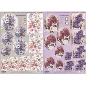 Pyramid Precut sheets - Various Flowers