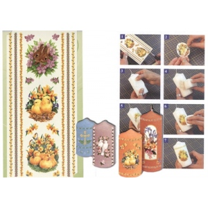 Reddy Candle Transfers - Rabbits, Ducks And Chicks Border