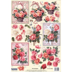 Reddy Die Cut 3D - Rose Bouquet