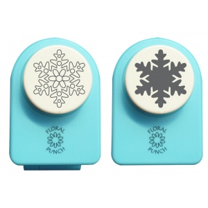 Nellie's Choice Floral Punch Medium Set - Snowflake