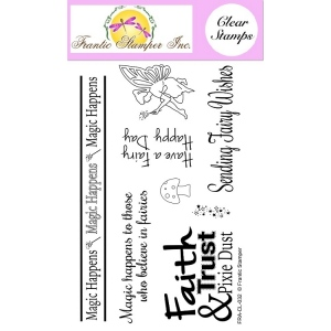 Frantic Stamper Clear Stamp Set - Fairy Wishes