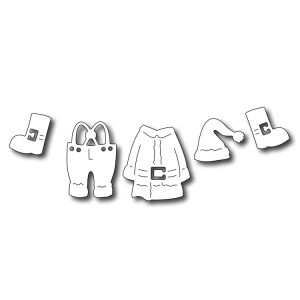 Frantic Stamper - Precision Dies - Santa's Suit (set of 5 dies)