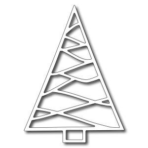 Frantic Stamper - Precision Dies - Triangle Christmas Tree