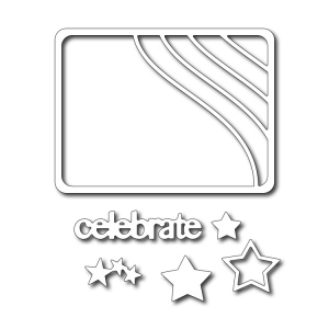 Cutting Die - Stars and Stripes Photo Card (set of 6 dies)