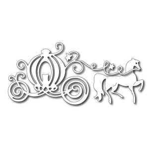 Cutting Die - Pumpkin Carriage and Horse (set of 3 dies)