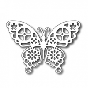 Frantic Stamper Cutting Die - Geared Butterfly